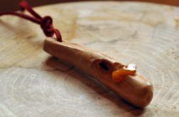 Wood+amber naszyjnik7
