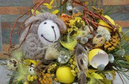 Stroik Wielkanocny z owieczką