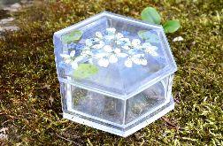 Zatopek szkatułka białe kwiaty I