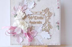 Kartka imieninowa różowa