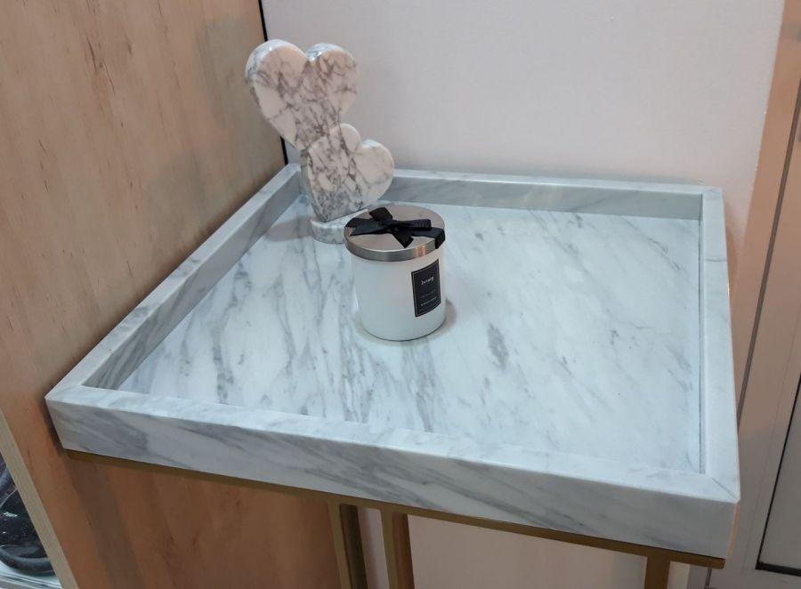 Stolik marmurowy Consola Tray 60 -