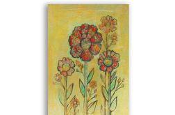 Kwiaty 20- rysunek dekoracyjny do pokoju