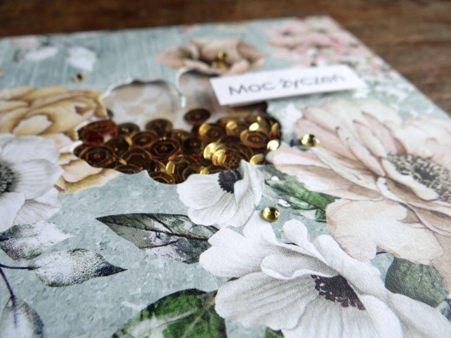 Zestaw dwóch kart Kwiat SHAKER - Detal2