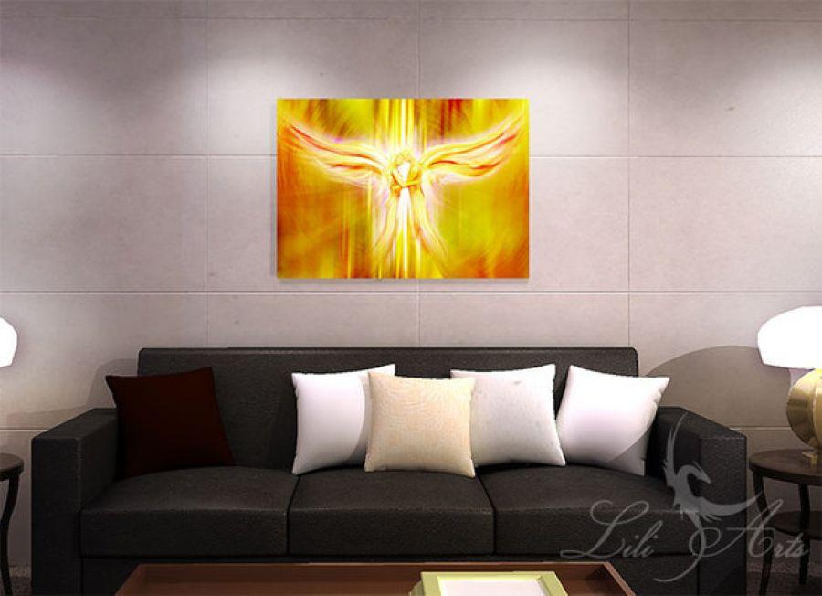 Obraz energetyzujący - Anioły Miłości - płótno