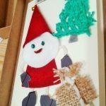 Kartka świąteczna z Mikołajem - Kartka świąreczna z Miakołajem