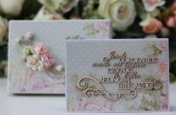 Kartka z pudełkiem - romantyczny ślub 1cd