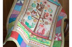 Kołderka dla malucha, patchwork