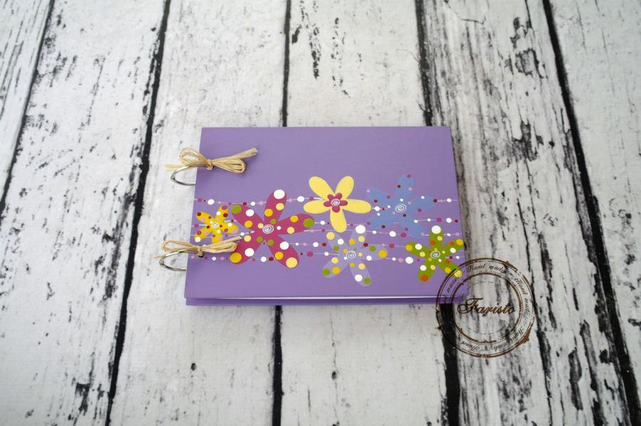 Album na zdjęcia mały fiolet