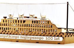 WÓDOWÓZ alkohol TITANIC statek urodziny 40