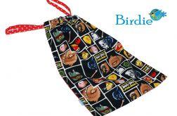 Woreczek na obuwie, ubranie - Angry Birds I by Birdie