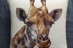 Poduszka gobelinowa - Żyrafa