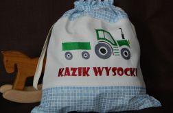 Mały rolnik - worek na kapcie/strój