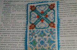 Zakładka do książki - etniczna - kolorowa