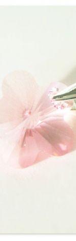 Zawieszka Swarovski Flower Light Rose