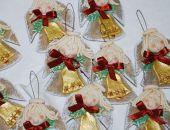 Dzwoń dzwoneczku  - aniołki - ozdoba, prezenty dla gości