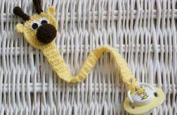 Zawieszka do smoczka Żyrafa