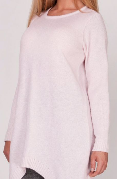 Długi sweter,frak