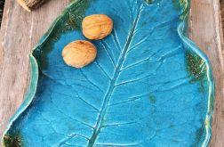 Ceramiczna patera (liść c23)