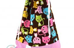 Worek przedszkolaka-kotki