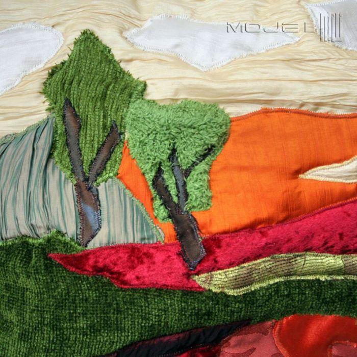 Spacer w ciepły dzień - różne tkaniny