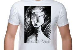 Szkic - t-shirt męski - różne kolory