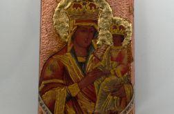 """Mały obraz """"Matka Boska z Jezusem"""""""