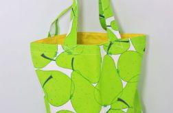 Torba ekologiczna na zakupy gruszki
