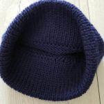 Modna gruba czapka z pomponem - modna czapka