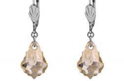 Beżowe kryształy