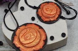 Komplet biżuterii Svadhisthana - wisiorek i bransoletka czakry sakralnej