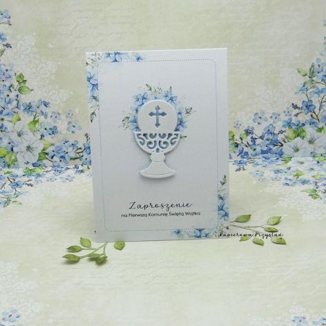 Zaproszenie na Komunię z grafiką ZKG 13