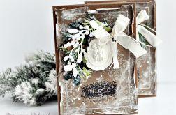 Kartka Magiczny czas Świąt