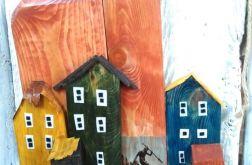 wieszak na klucze, ubrania z drewna - neptun