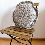 Poduszka dekoracyjna,poduszka szary-beż.