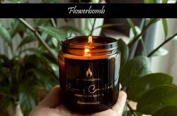Flowerbomb - naturalna świeca sojowa 120ml