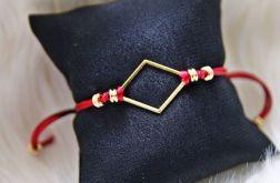 Sznurkowa bransoletka RedGold