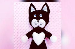 Kotek przytulanka ,kot dla dzieci-handmade