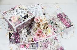 Exploding box - ślubny z tortem