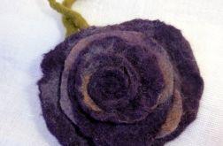 Filcowa róża