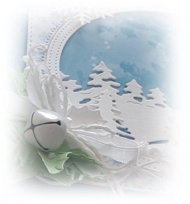 Karnet...Bożonarodzeniowy....świąteczny czas