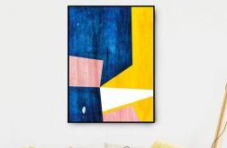 Plakat abstrakcja #80 50X70 B2