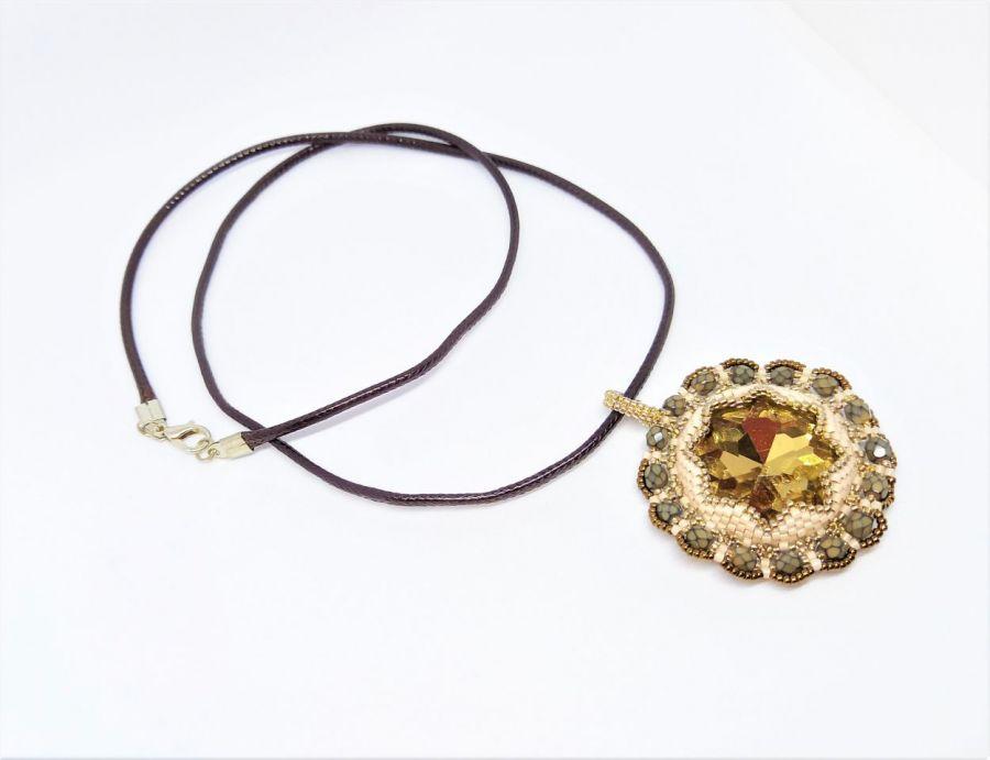 Naszyjnik Gwiazda Południa - Naszyjnik na prezent z kryształem Swarovskiego