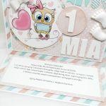 Kartka cukierkowa z sówką UDP 017 - Kartka dla dziewczynki cukierkowa z sówką (4)