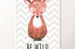 Plakat / BE WILD