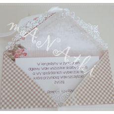 Kartka kopertowa ślub 03
