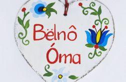 """Serduszko dla Babci """"Bëlnô Òma"""" - Super Babcia"""