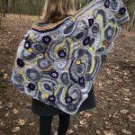 Chusta freeform crochet