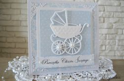 Z wózeczkiem - baby blue