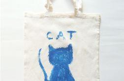 Bawełniana torba z kotem nr3 eko torba