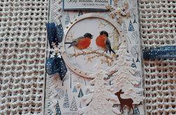 Kartka, kopertówka bożonarodzeniowa